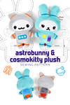 Astrobunny Plush Pattern