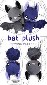Bat Plush Pattern