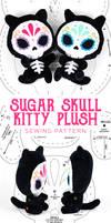 Sugar Skull Kitty Plush Pattern