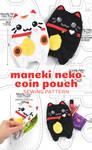 Maneki Neko Coin Pouch Sewing Pattern