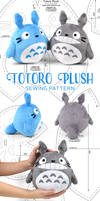 Totoro Plush Sewing Pattern