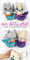 Mer-kitty Plush Sewing Pattern
