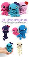 Jellyfish Amigurumi Crochet Pattern