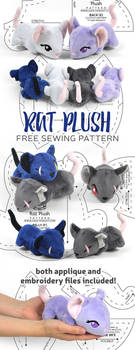 Rat Plush Sewing Pattern