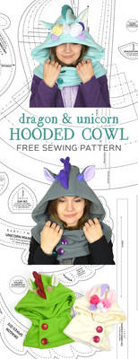 Hooded Cowl Sewing Pattern