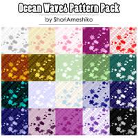 Ocean Waves Pattern Pack by SewDesuNe
