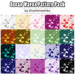 Ocean Waves Pattern Pack