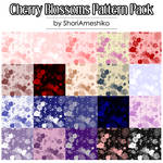 Cherry Blossoms Pattern Pack