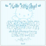 Hello Kitty Angel Font
