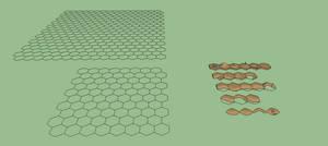 Modular Hex Terrain Base Pack