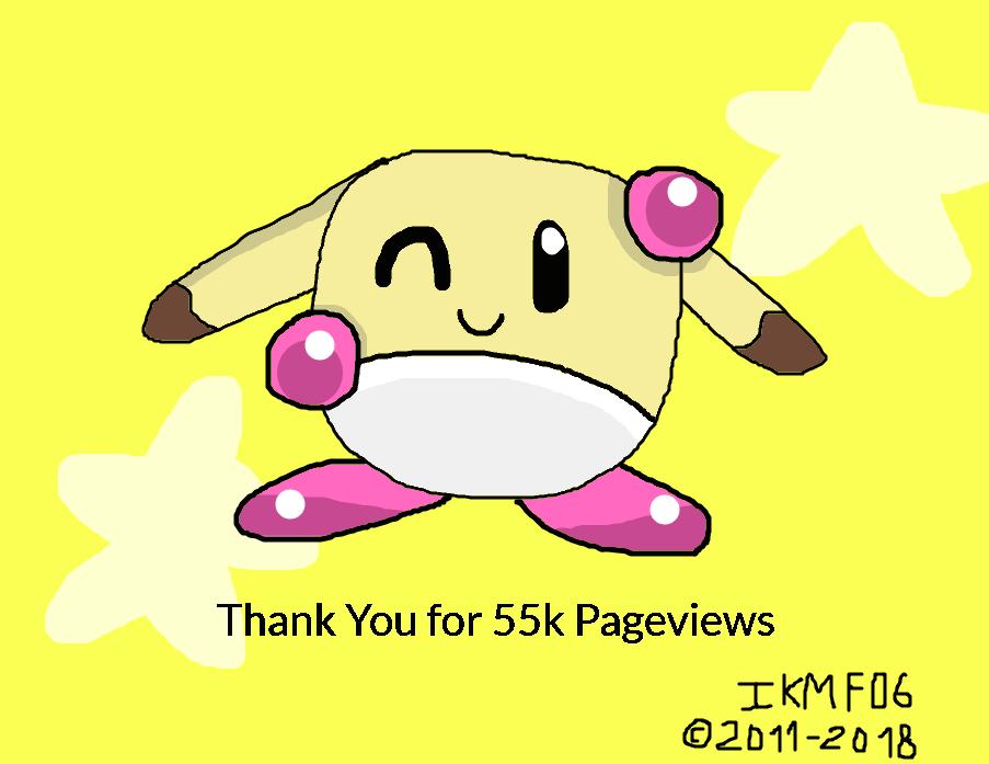 55k Pageviews! Thanks by IkaMusumeFan06