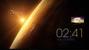 Sunrise Rainmeter theme by mechembucus