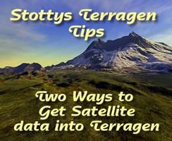 Satellite data 2 Terragen Tut by terragen