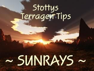 Stottys Terragen Sunrays Guide by terragen