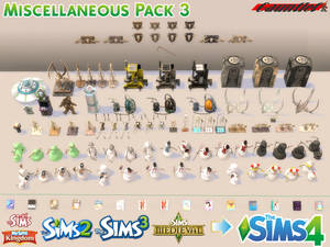 Sims4 Miscellaneous Pack 3