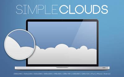 Simple Clouds Wallpaper