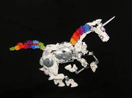 Stopmotion: Robot Unicorn by Rahiden