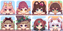 Giggling Icon Batch