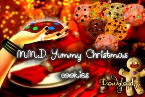 MMD DOWNLOAD Yummy christmas cookies by salutcoucou