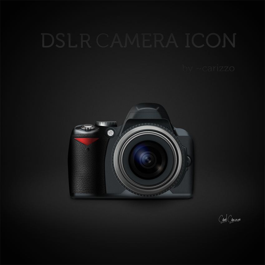 DSLR Camera Icon by carizzo