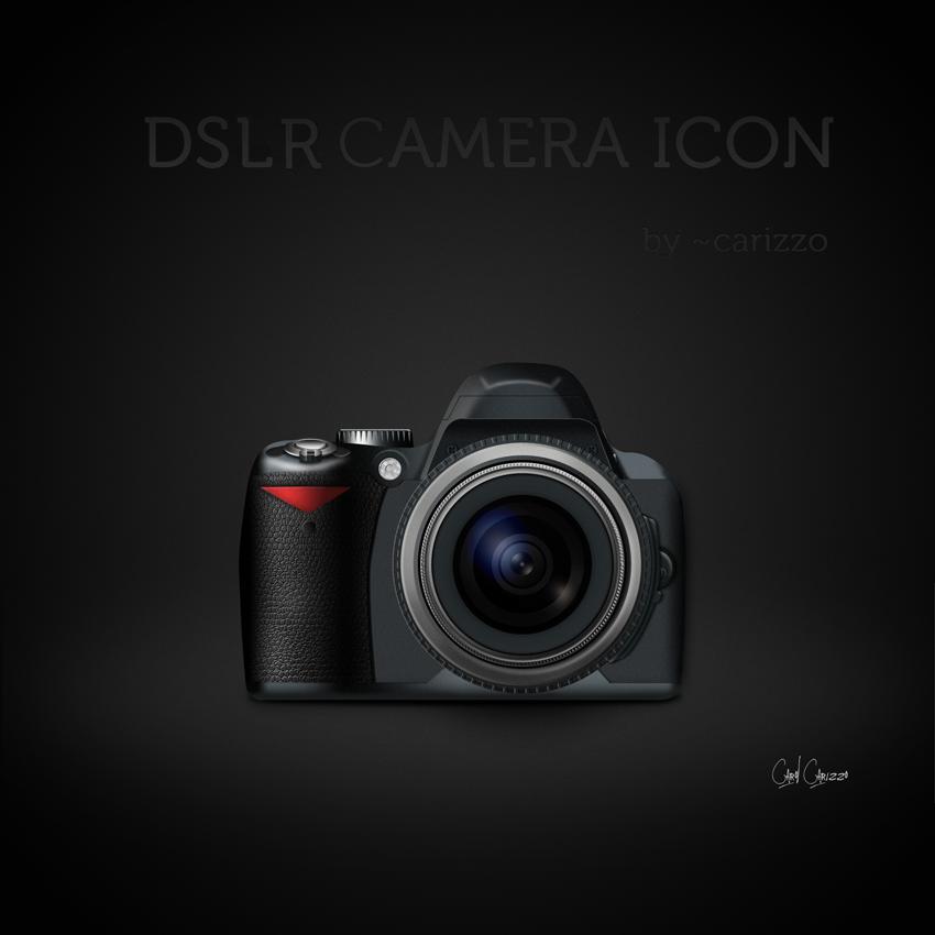 DSLR Camera Icon by carizzo