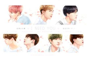 I NEED U : HYYH pt.1 series by Aureta