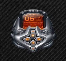 Winamp Skin  Drone v1  Notes by BelkacemRezgui
