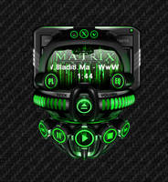 Winamp Skin  Matrix Online  Notes by BelkacemRezgui