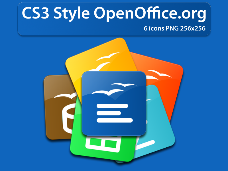 open office icon. OpenOffice.org CS3 Style Icons