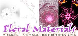 Material Pack 10-24 - Floral Stuff