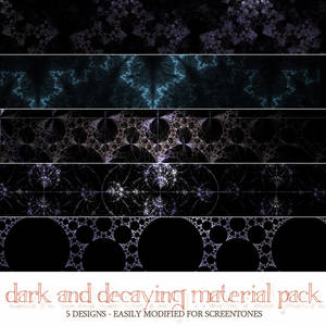Material Pack 10-31 - Dark and Decaying