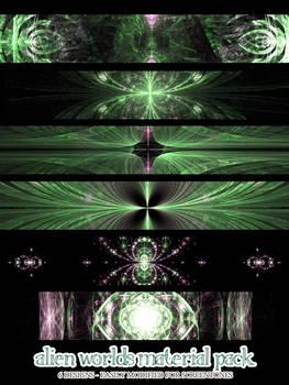 Material Pack 11-7 - Alien Worlds