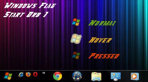 Windows Flag Start Orb 1