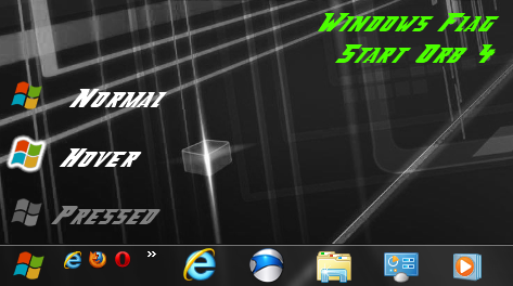 Windows Flag Start Orb 4