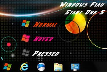Zune Windows Flag Start Orb 5