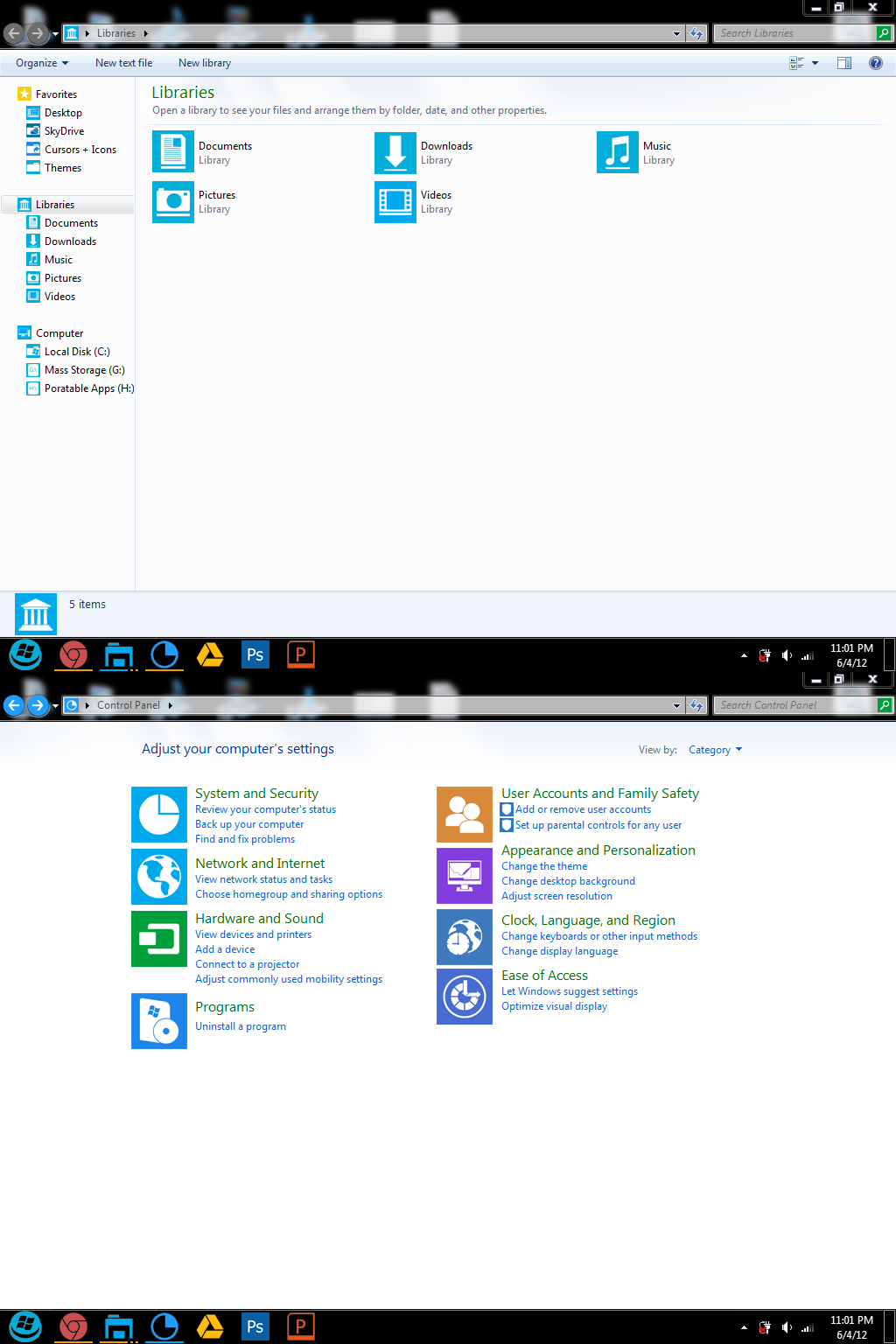 My Desired Metro-like Windows 7 Theme by dAKirby309