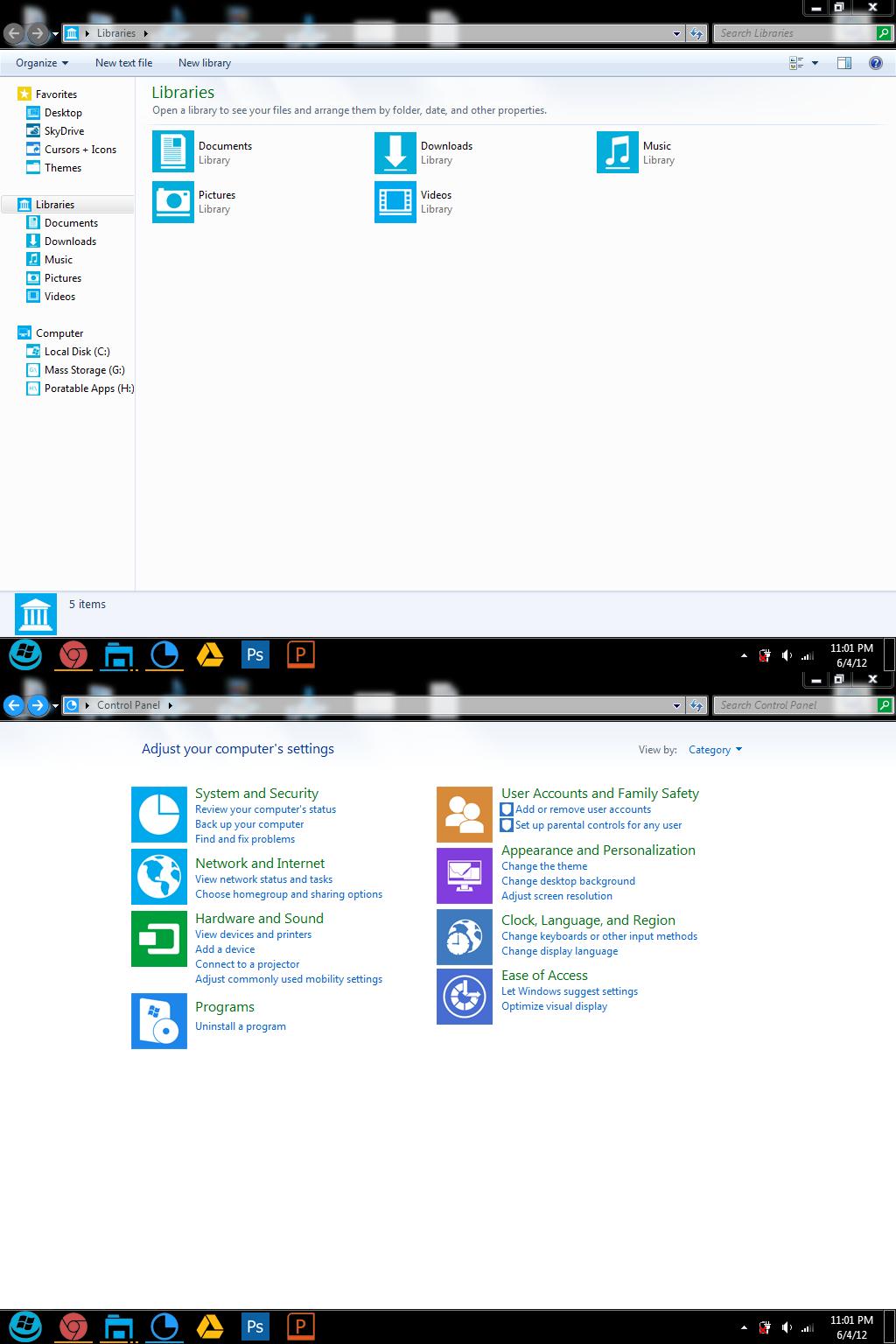 My Desired Metro-like Windows 7 Theme by dAKirby309