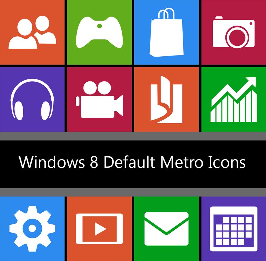 Windows 8 - DEFAULT TILES - 512px by dAKirby309