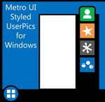 Metro Styled UserPics for Windows