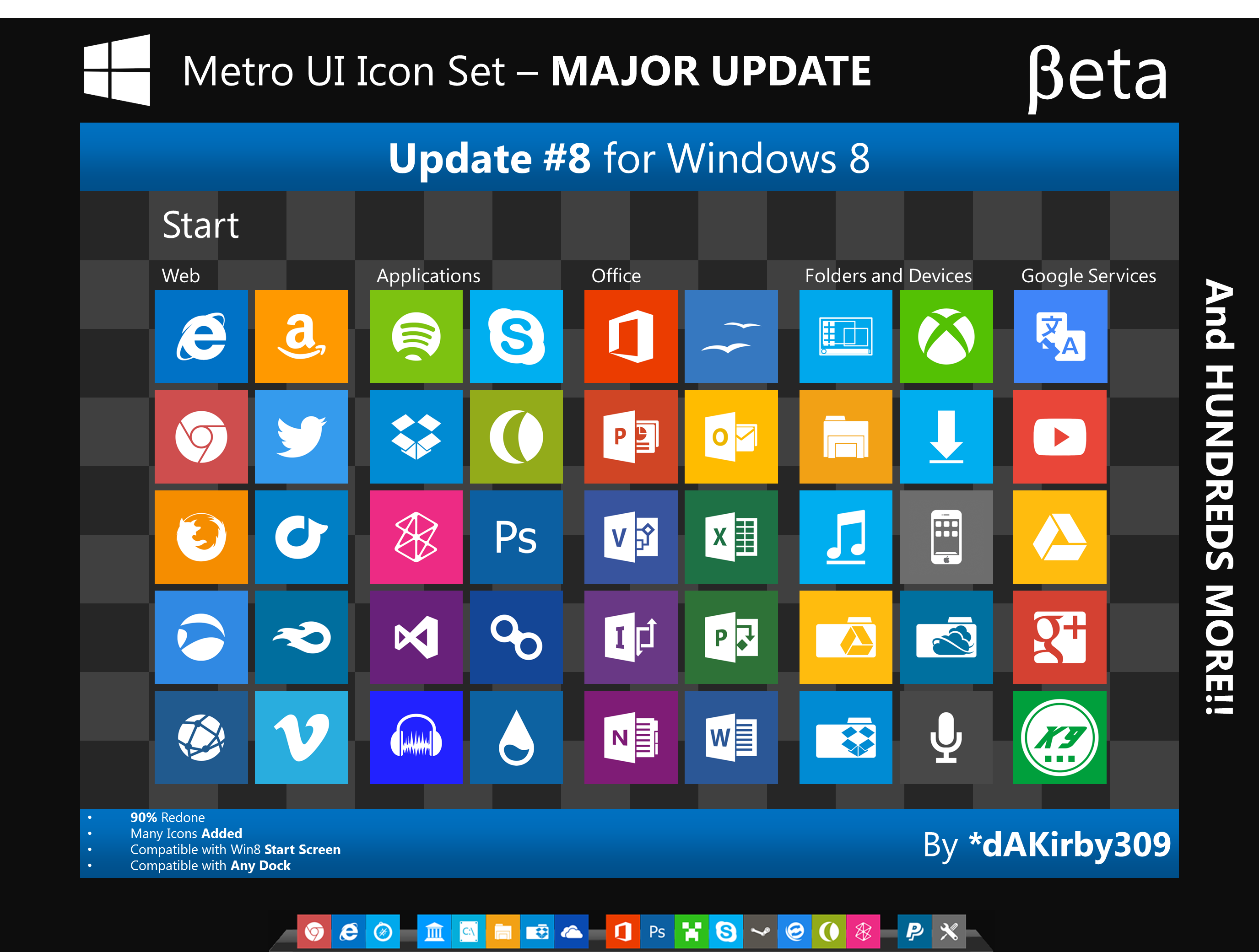 BETA - Metro UI Icon Set (CLOSED)