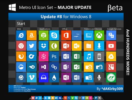 BETA - Metro UI Icon Set (CLOSED)