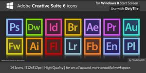 HQ Adobe CS6 Icons