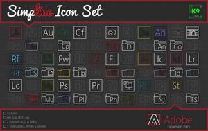 Simpline Icon Set - Adobe Expansion