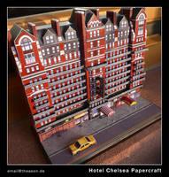 Hotel Chelsea - Papercraft