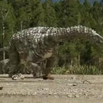 Australian Dinosaurs Diamantinasaurus And Minmi