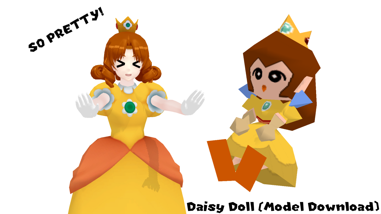 [MMD] Daisy Doll (Model download) by VOCAD