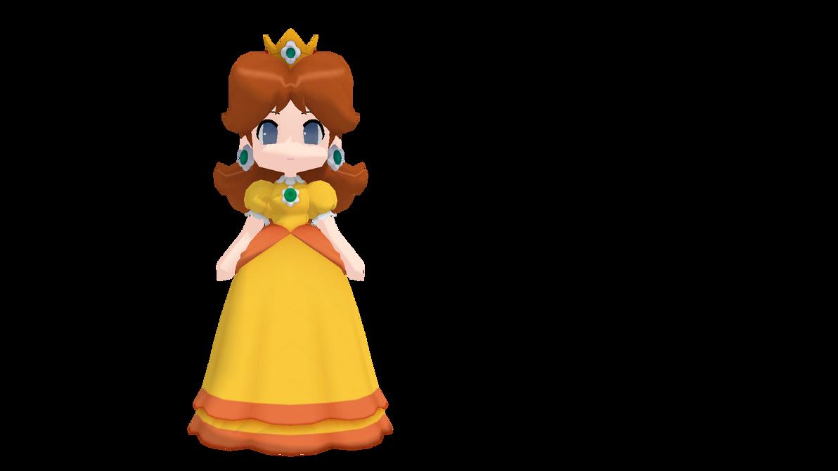 [MMD] Nano Princess Daisy (model download) by VOCAD
