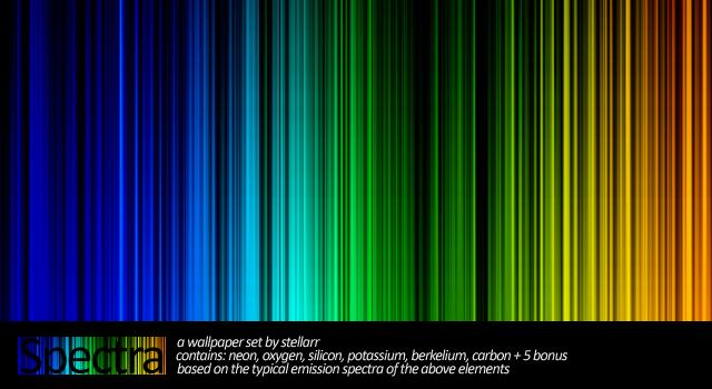 Spectra Wallpaper Pack