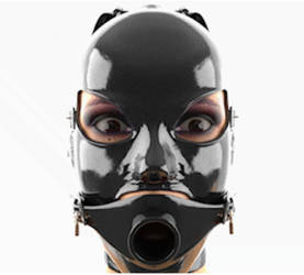 Gagmask animation by CyberCpt