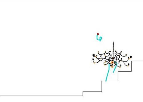 Chandelier - Animation test